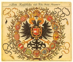 Heraldic arms of the Holy Roman Empire, Siebmachers Wappenbuch