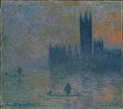 Claude Monet, The Houses of Parliament (Effect of Fog), 1903–1904