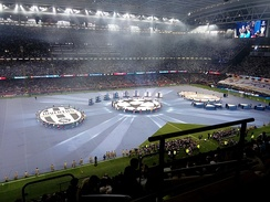 The opening ceremony of the 2017 UEFA Champions League Final
