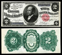 Windom appears on U.S. silver certificates