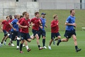 USA players training during the 2006 World Cup.