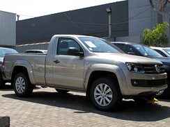 Volkswagen Amarok single cab