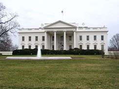 The White House is at 1600 Pennsylvania Avenue.