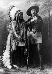 Sitting Bull and Buffalo Bill Cody, Montreal, Quebec, 1885