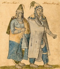 18th century depiction of an Abenaki couple