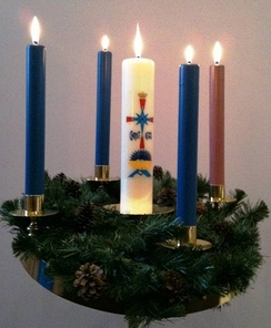 Blue Christmas is observed during the end of Advent, before Christmas Day