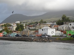 The capital, Basseterre