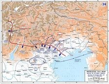 Map of the Battle of Vittorio Veneto, in which the Italian Army decisively defeated the Austro-Hungarian offensive