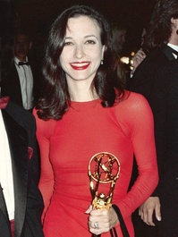 At the Governor's Ball after winning the back-to-back Emmy Award for Outstanding Supporting Actress in a Comedy Series at The 43rd Annual Primetime Emmy Awards, August 25, 1991