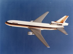 The Boeing 777-100 trijet concept