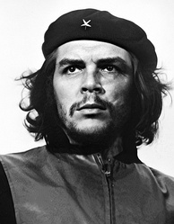 Guerrillero Heroico, Che Guevara, one of the iconic images from the Cuban Revolution and more generally anti-imperialism. Photo by Alberto Korda, 1961.