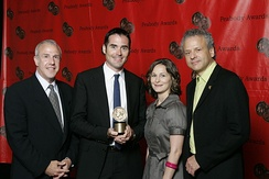 Fred Kaufman and the crew of NATURE-Silence of the Bees at the 67th Annual Peabody Awards