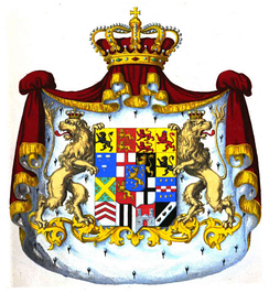 Coat of arms of Nassau, 1846