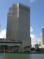 InterContinental at the edge of Biscayne Bay and the Miami River in Downtown Miami