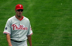 Jayson Werth at Wrigley Field during a 2007 game vs. the Cubs.