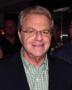 Show host Jerry Springer