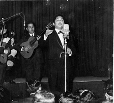 Julio Jaramillo is an icon of the old Bolero music genre.