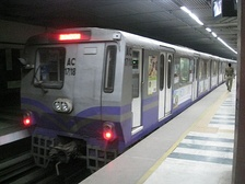 The Kolkata Metro is the oldest metro system in India