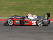 Kolles' R10 TDI competing in its debut race, the 2009 1000 km of Catalunya