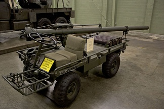 M274 with M40 recoilless rifle