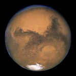 Mars, as seen by the Hubble Space Telescope (2003)