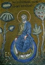 Monreale god resting after creation.jpg