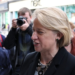 Natalie Bennett, leader of the Green Party of England and Wales. She contested in Holborn and St Pancras.