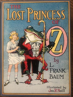 John R. Neill's depiction of Dorothy in The Lost Princess of Oz (1917)