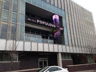 Former headquarters of Populous, in Kansas City, Missouri