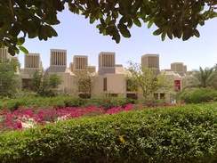 Qatar University, east view