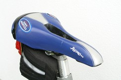 A Selle San Marco saddle designed for women