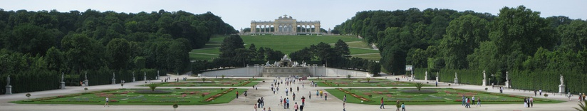 Gloriette at the Schönbrunn Palace