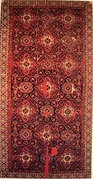 Type I small-pattern Holbein carpet, West Anatolia, 16th century.