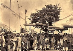 People in Ha Noi, 1884