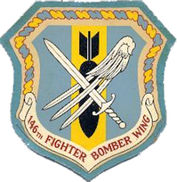 Legacy 146th Fighter-Bomber Wing Emblem