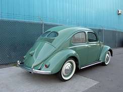 "1949 split-window (known as a ""pretzel"",[citation needed] ""split"", or ""splitty""[citation needed] among enthusiasts) was commonly used to describe transporters of the era."