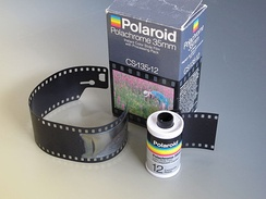 Polachrome instant slide film