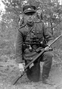 "Adolfas Ramanauskas (""Vanagas""), commander of the Union of Lithuanian Freedom Fighters"