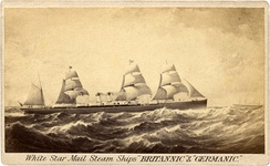 Britannic and Germanic of 1874, (5,000 GRT)