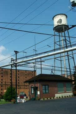The Buffalo Trace Distillery