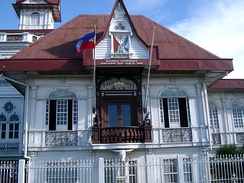 The House of Emilio Aguinaldo is where the proclamation of Philippine Independence from Spain took place on June 12, 1898.