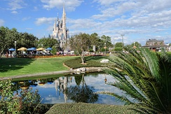 Magic Kingdom, the world's most visited theme park