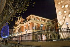 Provincial Palace, home of the Council of Albacete.