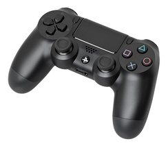 The DualShock 4 controller for the PlayStation 4