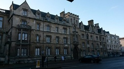 Exeter College's Broad Street frontage