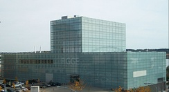 The Figge Art Museum in Downtown Davenport, Iowa.