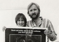 The producing team behind Aliens, James Cameron and Gale Ann Hurd