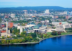 Gatineau downtown area