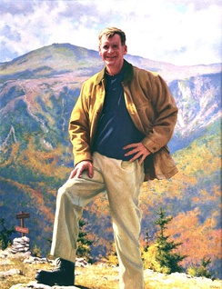 Then-Governor Judd Gregg as painted by Richard Whitney