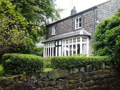 House in Walsden where John Cockcroft lived from the age of two until he was 28 years old
